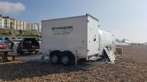 Refrigerated Chiller Trailer Hire Sussex Cold Store Delivery or Collection