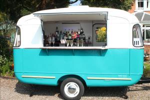 Vintage Catering Caravan trailer