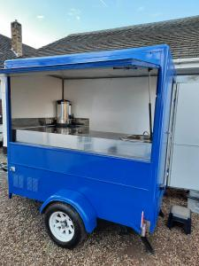 Newly refurbished catering trailer