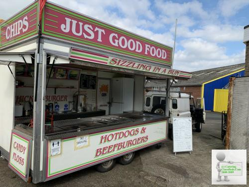 14 ft burger van catering trailer