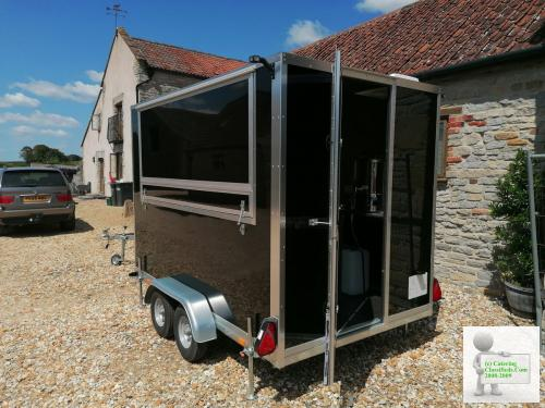 New 10ft x 6 ft Twin Axel Catering Trailer -