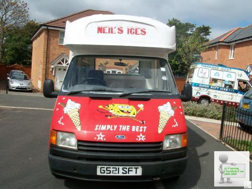 Morrison full cowl hard ice cream van