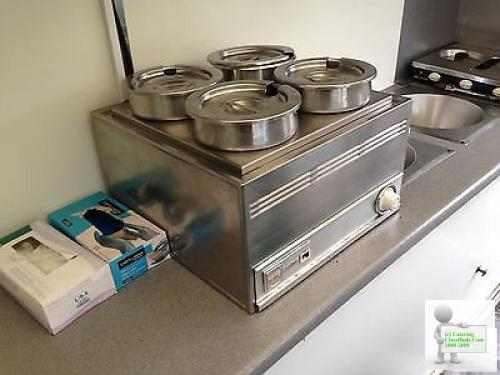 Ajc twin wheel catering trailer