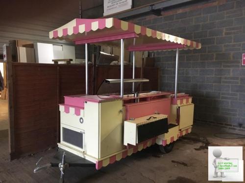 Ice Cream Cart Carpigiani Trailer Catering Unit