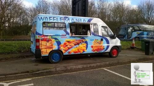 Burger van and pitch to rent in oxford