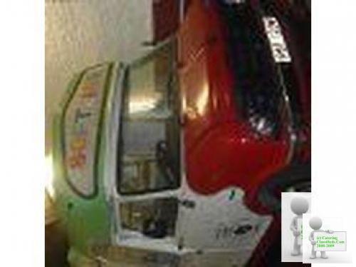 Ice Cream Van With Carp
