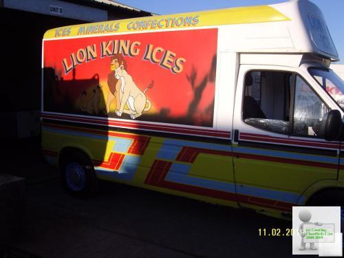 HARD ICE CREAM VAN