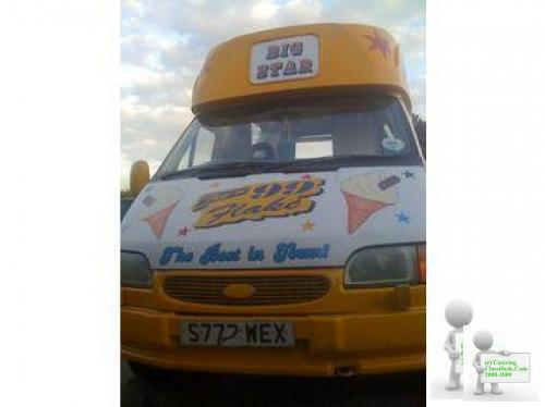 Ice Cream Van Ford Transit