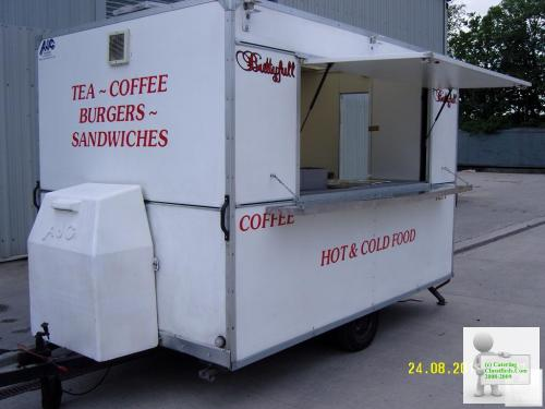 AJC 10x6 Catering Trailer