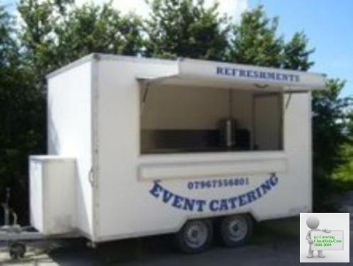 12FT X 7ft catering trailer