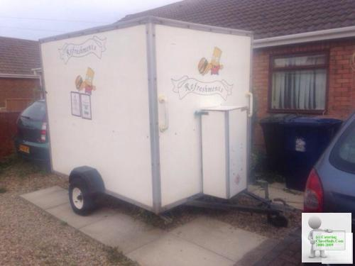 Burger van catering trailer