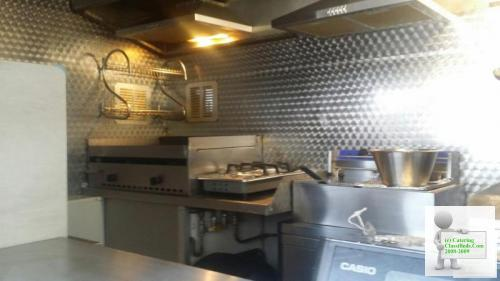 12ft x 6ft catering trailer