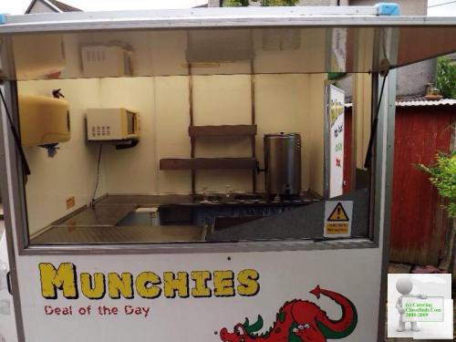 6x5 Catering Trailer