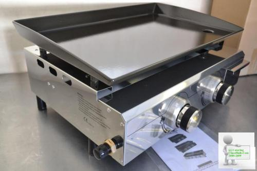 BBQ Hotplate 2 Burner LPG gas GRIDDLE