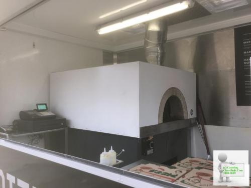 Pizza Catering Trailer