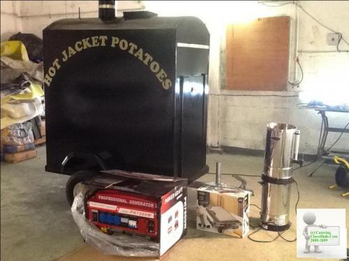 Hot jacket potatoe oven buisness
