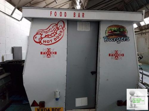 Ready to work Catering Trailer