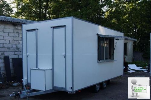 Catering Trailer, Burger Van, Street Food Van, Mobile Kitchen