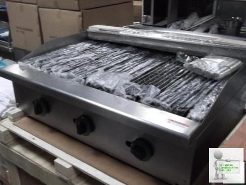 New 3 Burner Char Broiler