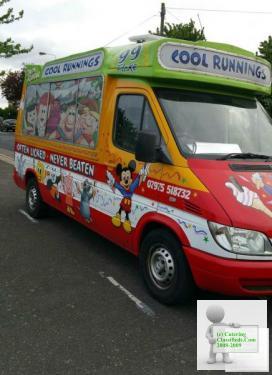 Soft Ice Cream Van