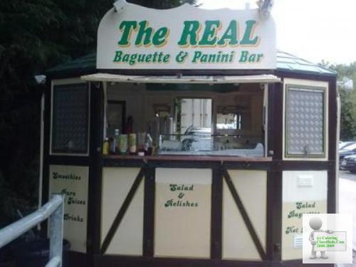 UNIQUE, IMMACULATE Catering Trailer