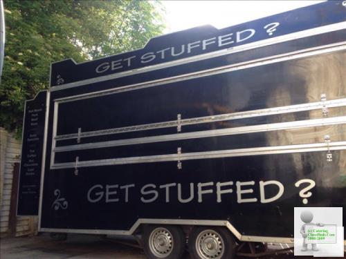 16ft Custom Built Catering Van