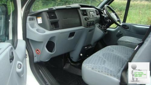 2009 09 FORD TRANSIT T 330 SWB AWD 4WD FRIDGE