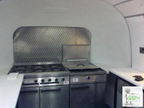 Vintage 1955 Airstream Catering Trailer