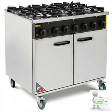 Buffalo Commercial 6 Cooker Range