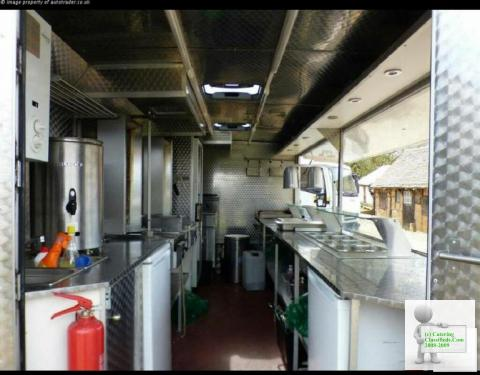 Amazing business opportunity! Catering van
