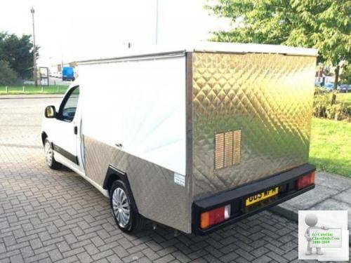 Citroen BERLINGO 800D LX jiffy truck food catering unit jiffy van