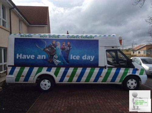 Wanted transit ice cream van