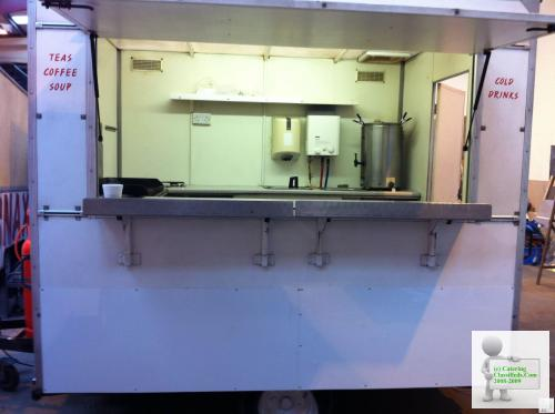 AJC 8x6 Catering Trailer in beautiful condition
