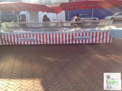Refrigerated Serve Over Counter Trailer