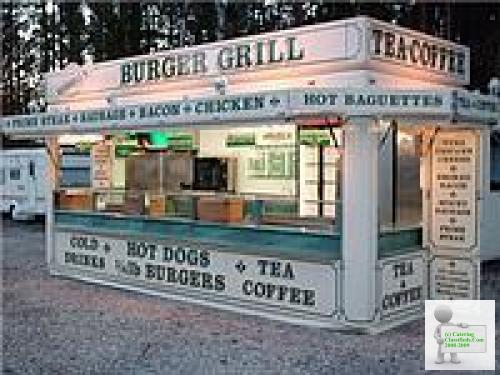 20 'Pro Catering Trailer
