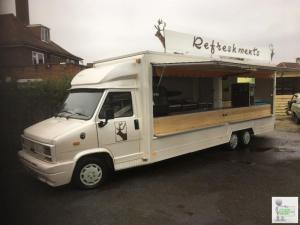 Catering vehicle, food van, burger van, ice cream van