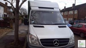 Mercedes Freezer Van