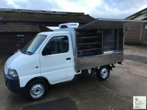 Suzuki Carry JIFFY TRUCK SANDWICH VAN