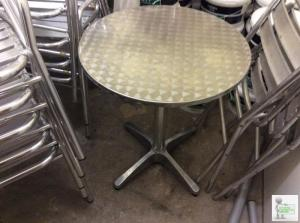 Outside table and chairs x40