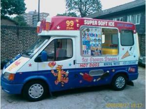 Soft Ice Cream Van R Reg Ford Transit Diesel
