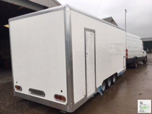 Catering Trailers in production