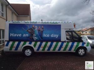 Wanted transit ice cream van