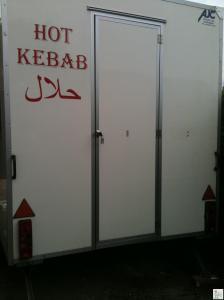 KEBAB TRAILER CATERING VAN