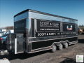6 Wheel Trailer With Towing Bar